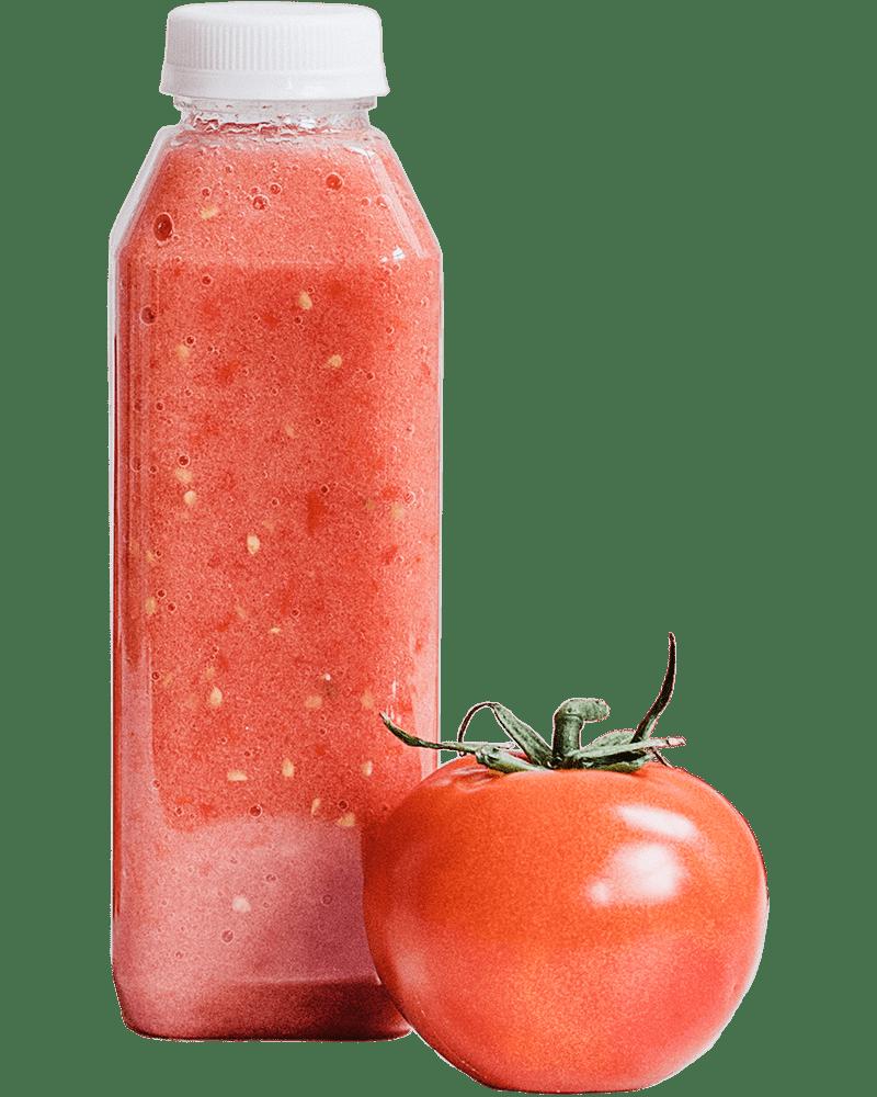 Tomato juice bottle